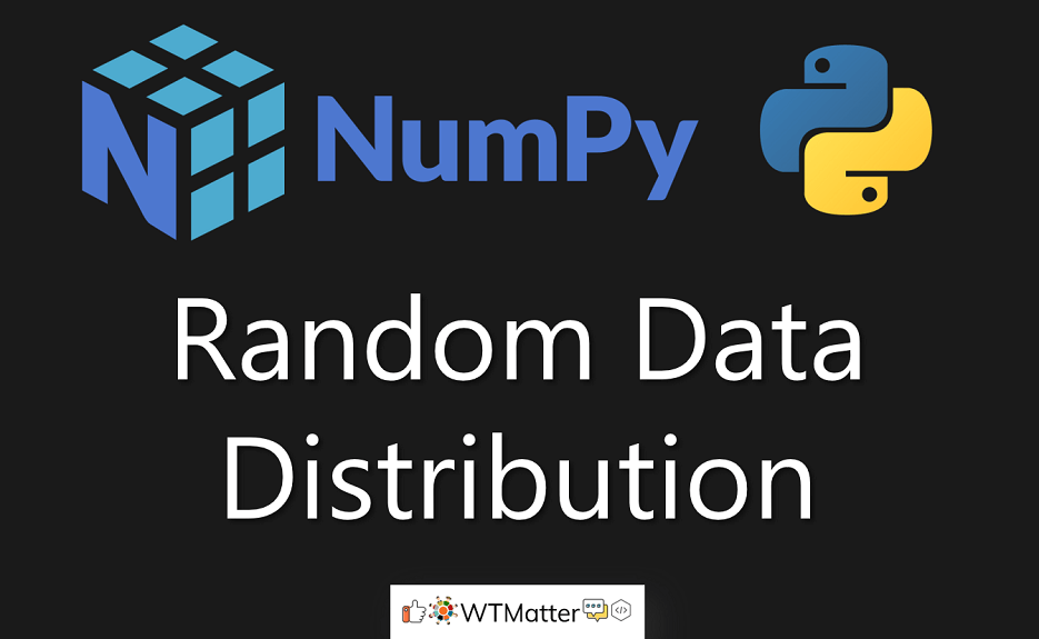 Python Tutorial - NumPy Random Data Distribution